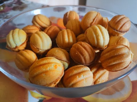 Орешки Со Сгущенкой.Вкусный и Простой Рецепт!