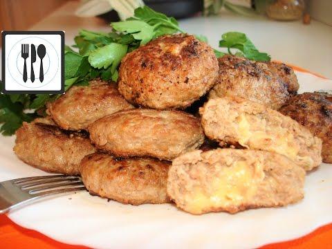 Сочные домашние котлеты с сыром по-турецки. Кёфте с сыром/Kasarli kofte nasil yapilir