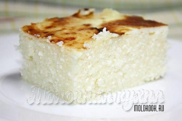 Десерт с добавлением творога