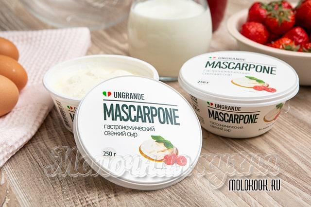 Сыр Маскарпоне