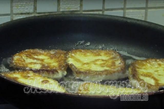 Приготовление на сковороде