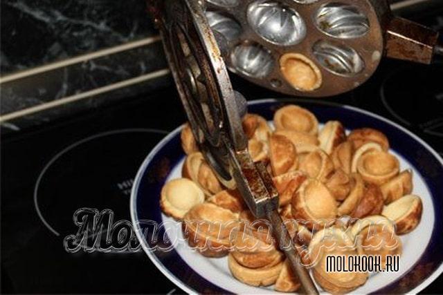 Приготовленное печенье