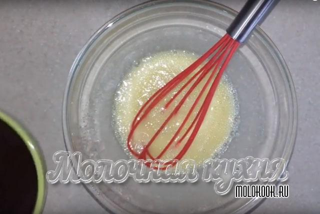 Яйца, растертые с сахаром