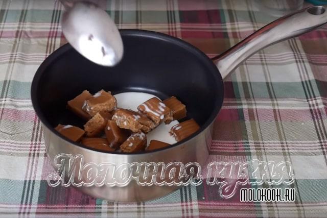 Приготовление карамели