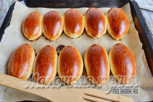 Рецепт пирожков на дрожжах
