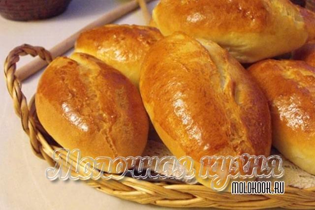 Рецепт пирожков на кефире, без дрожжей