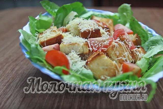 Ресторанный вариант салата