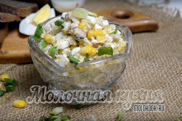 Рецепт с консервированной кукурузой