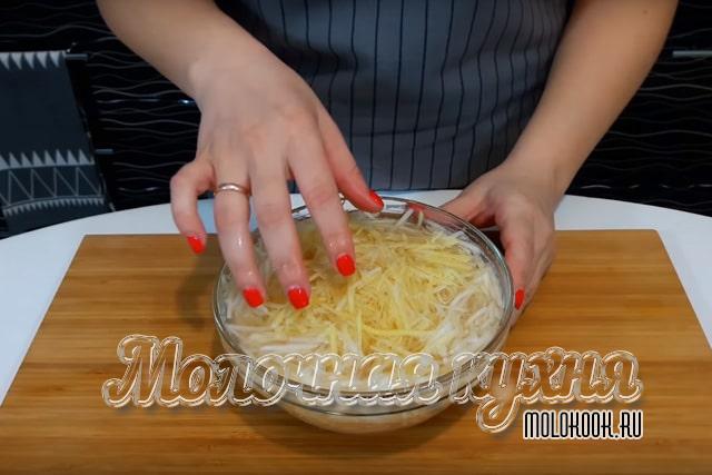 Промывание картофеля