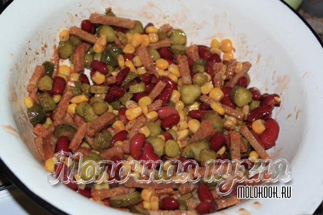 Перемешанный салат
