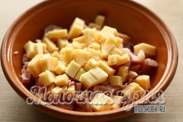 Добавленный сыр