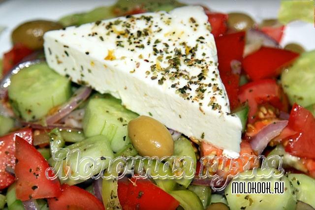 Настоящий рецепт греческого салата