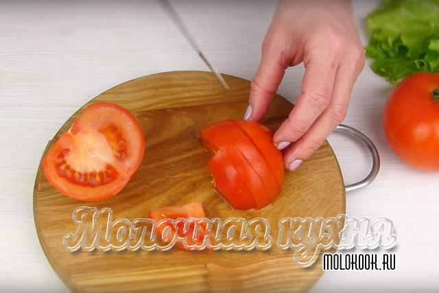 Дольки помидоров