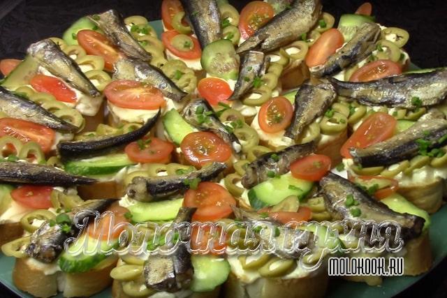 Рецепт со свежими помидорами и овощами