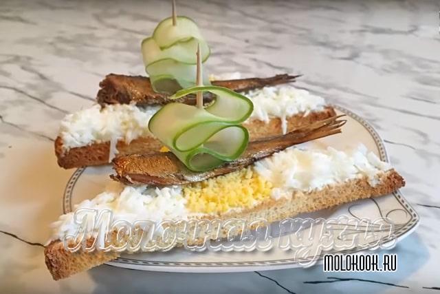 Вариация с творожно-сливочным сыром и яйцом