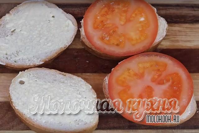 Выкладывание помидора