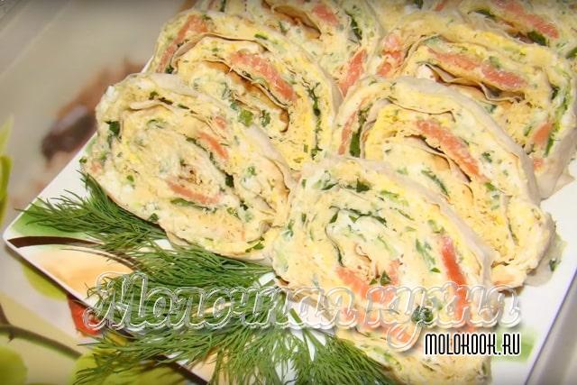 С добавлением майонеза, твердого сыра, вареного яйца