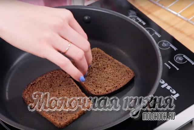 Подсушивание хлеба