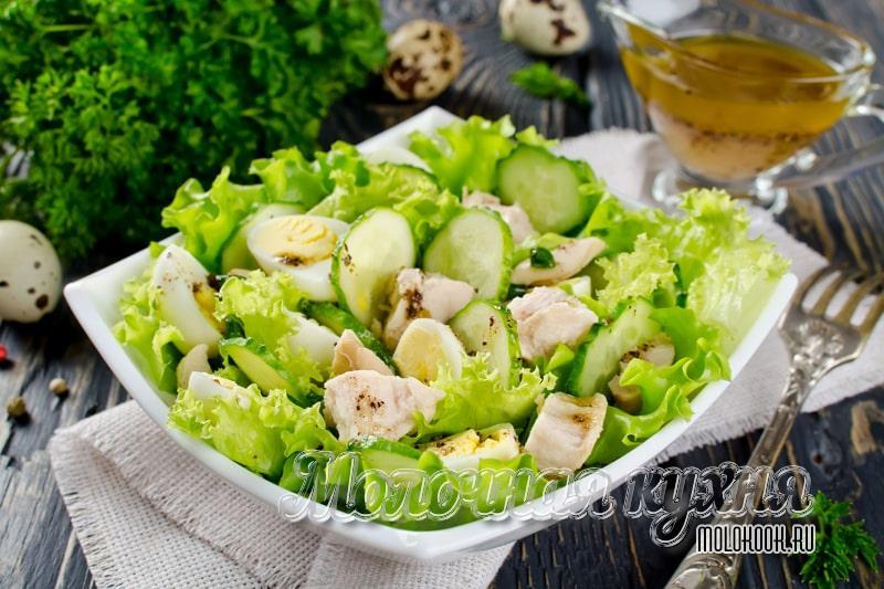 Простой рецепт вкусного салата с печенью трески