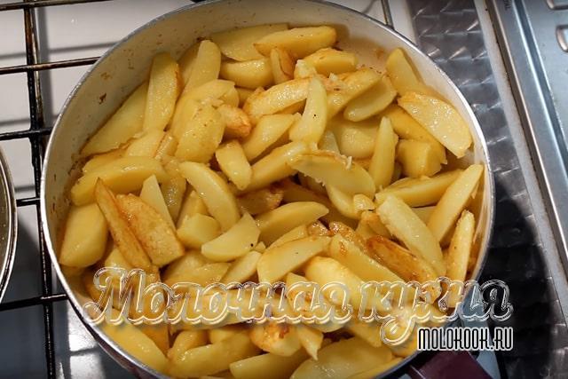 Подрумяненная картошка