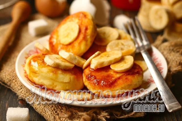 Рецепт с бананом