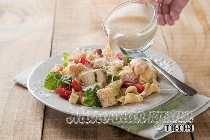 Классический рецепт соуса Цезарь - точно как в ресторане