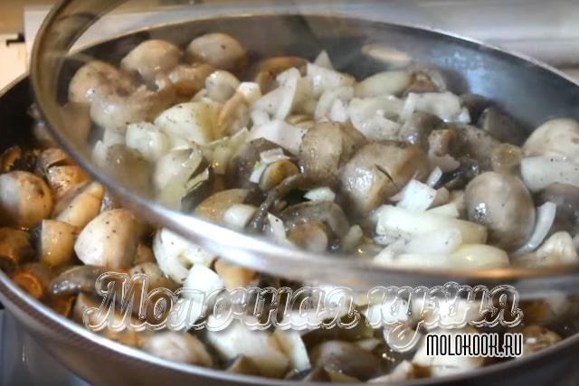 Тушение грибов