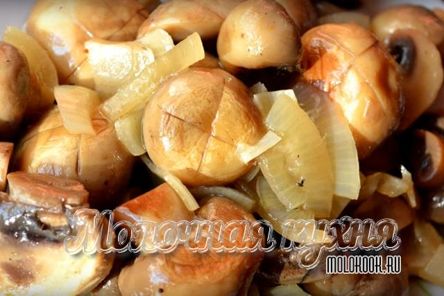 Вариант мринования с гвоздикой, репчатым луком и уксусом