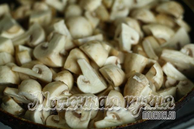Пропаривание грибов