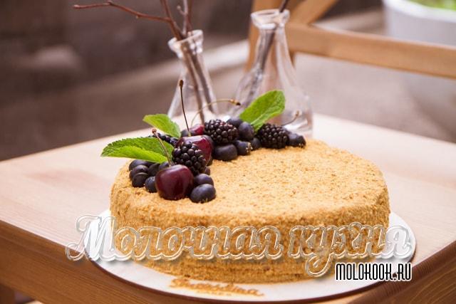 Медовый торт. 23 рецепта от Сибмам с фото - Торты и пирожные