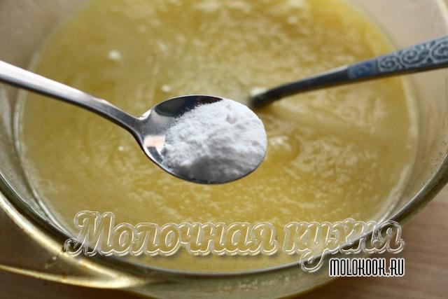 Добавление пищевой соды