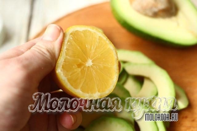Поливание соком лимона