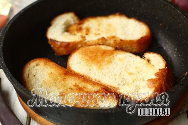 Подрумянивание хлеба