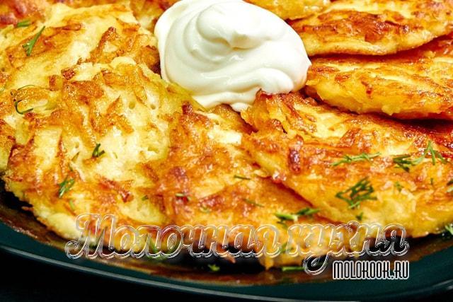 Вариант приготовления с добавлением чеснока и сыра