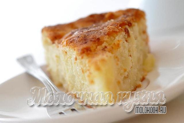 Рецепт с яблоками и картофельным крахмалом