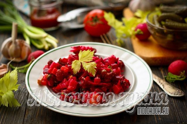 Рецепт с квашеной капустой и фасолью