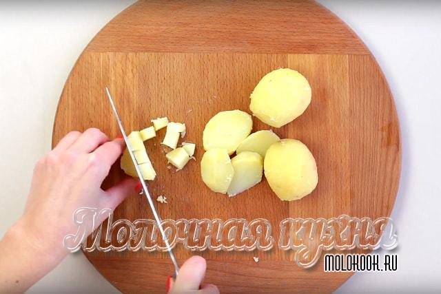 Измельчение картошки