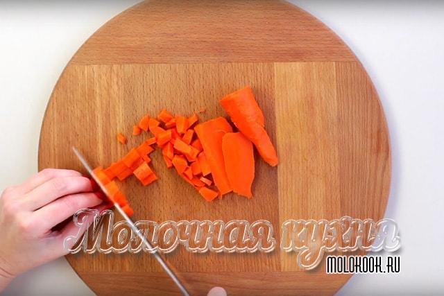 Измельчение моркови