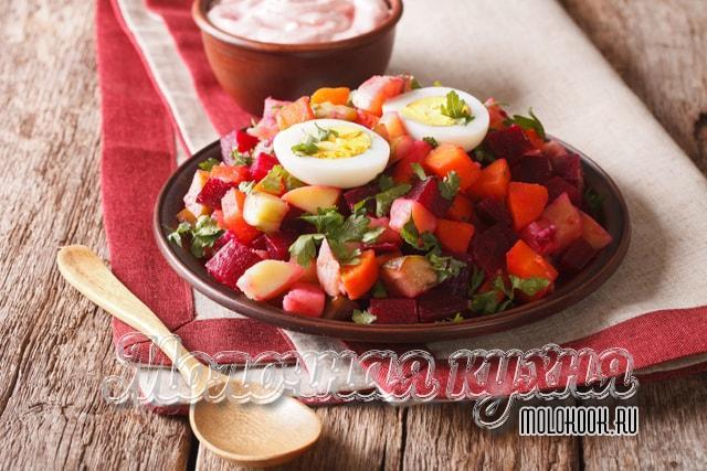 Рецепт с добавлением отварного яйца