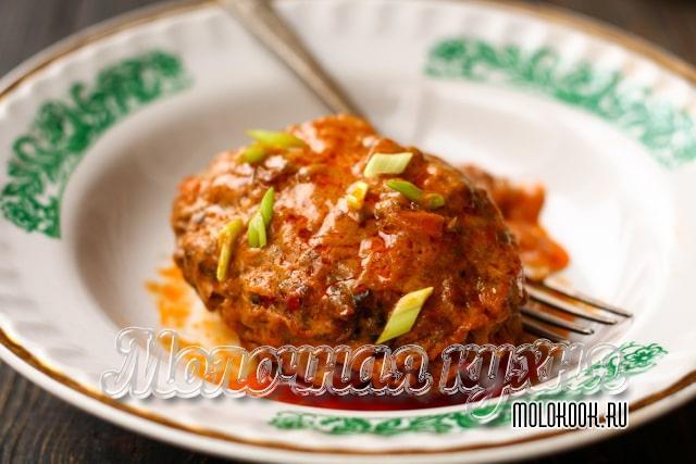 Способ приготовления с соусом из томатной пасты