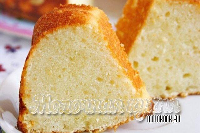 Вариант диетического манно-творожного пирога