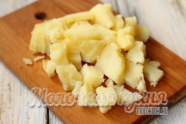 Измельченный картофель