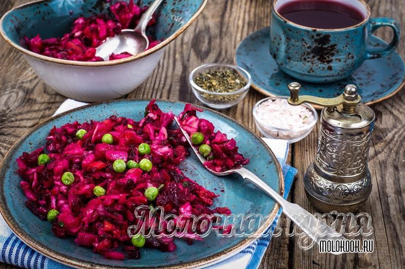 Классический рецепт винегрета