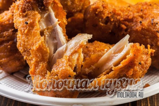 Способ приготовления а-ля KFC