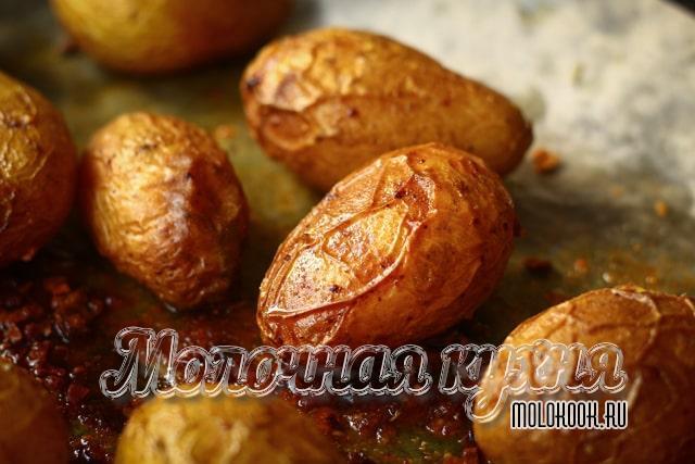 Рецепт картофеля в кожуре