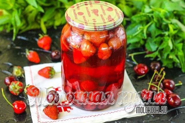 Вариант приготовления с добавлением вишни