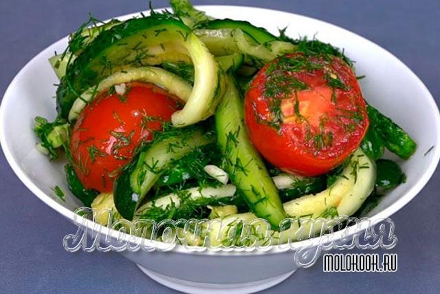 Масосольное овощное ассорти