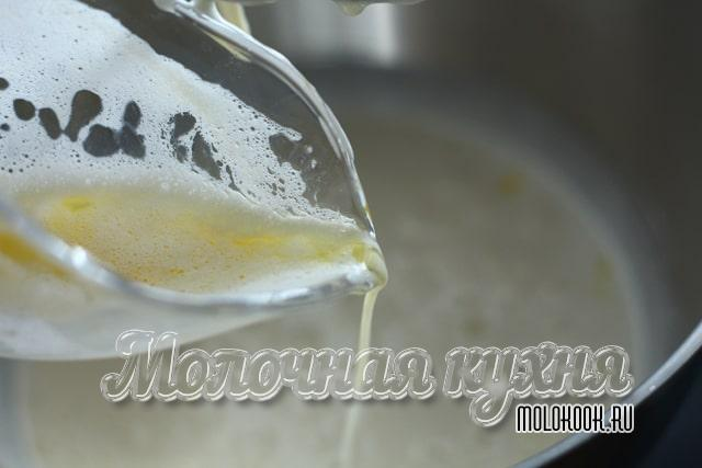 Вливание масла