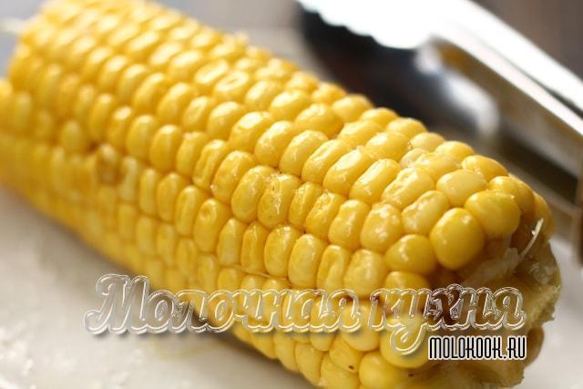 Рецепт варки кукурузы в початках в воде (в кастрюле)