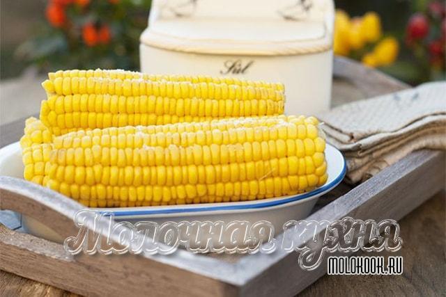 Кукуруза, вареная в скороварке